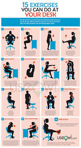 Office Exercises At Your Desk 15 Exercises You Can Do At Desk In Office Useowl