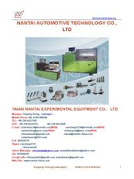 nantai catalog new fuel injection diesel engine