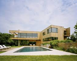 Cantilever Home by Bluff House Located In Montauk Keribrownhomes