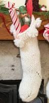 chunky knit christmas stocking pattern u2022 nourish and nestle