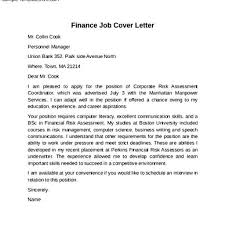 100 cover letter format for finance writing an academic