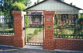 modern metal fences and gates with wrought iron gates and fences