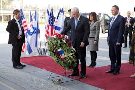 Flag Of Jerusalem Pence Says Us Embassy Will Move To Jerusalem By End Of 2019