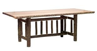 Log Dining Room Table Rustic Rectangular Dining Room Tables Reclaimed Furniture Design