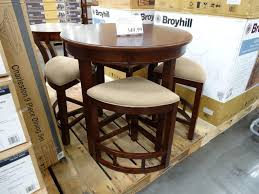 broyhill fontana leafout pine kitchen dining table full size of