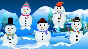 five little snowmen snowman kids tv nursery rhymes s01ep252 youtube