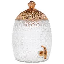 home essentials u0026 beyond 1 75 gal copper topped pineapple shaped