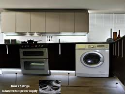 led strip lights for kitchen unit under cabinet white