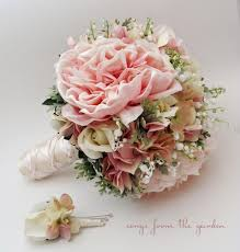 of the valley bouquet bridal bouquet of the valley peonies roses hydrangea pink