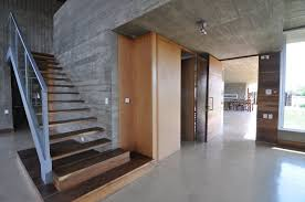 Cement Home Decor Ideas by Cement Homes Plans Concrete Home Designs In Narrow Slot Modern