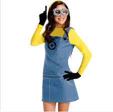 Minion Halloween Costumes Kids Costume Mesdames Small Yellow Minions Cosplay Costume