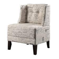 poundex bobkona prissy wingback chair u0026 reviews wayfair