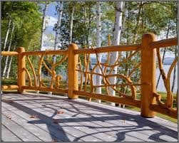 outdoor home design rustic deck railing ideas home remodeling lawn