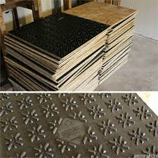 How To Finish Basement Floor - how to carpet a basement floor damp basement basement flooring