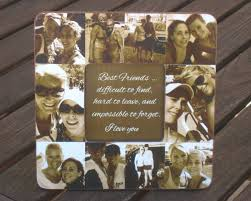 best friend gift unique sister gift bridesmaid collage