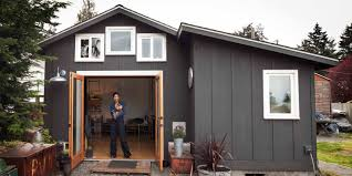garage turned tiny house michelle de la vega seattle tiny home