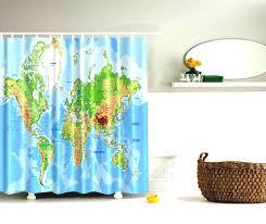Shower Curtain World Map World Map Wallpaper Maps Widescreen Hiltonmaps Com