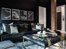room with black walls black living room walls coma frique studio 8d226cd1776b