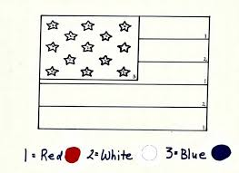memorial day american flag coloring sheet song kiboomu worksheets