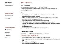 Housekeeping Resume Examples by Housekeeping Cleaning Resume Sample Reentrycorps