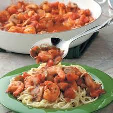 Dinner Ideas With Shrimp And Pasta Pasta U0026 Sauces Taste Of Home
