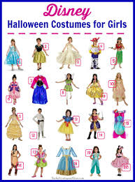 disney halloween costumes for girls 30 or less