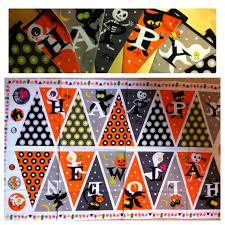 halloween panel fabric the empty oxo box halloween bunting woooohooooo