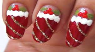latest christmas nail art ideas nail art designs for christmas