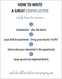 write good cover letter