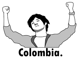 Colombia Meme - colombia rage face colombia pose know your meme