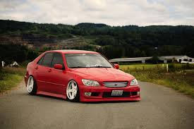 toyota altezza toyota altezza jdm japan car tuning red toyota altezza red hd