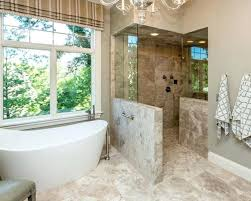bathroom designs with walk in shower bathroom remodel walk in shower cost half wall simple kitchen detail