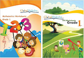worksheets for class 1 maths u0026 evs price in india buy