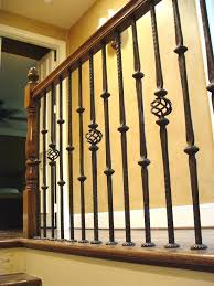 lowes banisters and railings wrought iron indoor railing custom iron interior exterior railings
