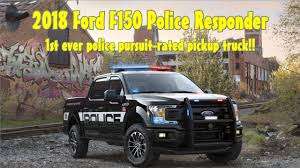 2018 ford f150 police responder 1st police pursuit rated pickup