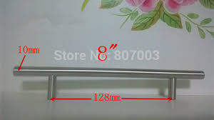 quincaillerie de cuisine diamètre 10mm longueur 200mm 8 meubles quincaillerie poignée d