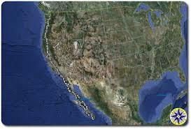 Baja Map Satellite Tracking Of Baja Off Road Adventure Overland