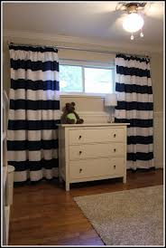 Navy Blue And White Striped Curtains Perfect Navy Striped Curtains And Navy Blue And Gray Striped