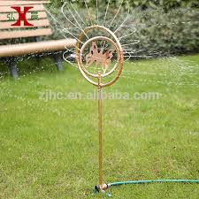 garden butterfly ornamental decorative water sprinkler view water