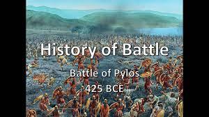 history of battle the battle of pylos 425 bce youtube