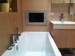 bathroom tv ideas bathroom aquavision waterproof bathroom television regarding