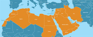 Middle East Countries Map by What Is The Middle East