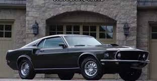 Black 1969 Mustang Fastback 1969 Mustang Fastback Factory Cobra Jet With A C