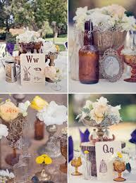 themed wedding decorations 1920 s wedding decor ideas i a ton of bottles that