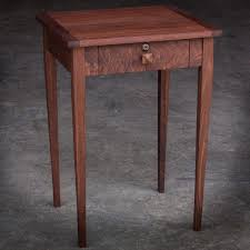end table with locking drawer solid walnut nightstand with locking drawer headed to nashville