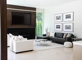 salon canapé noir 12 superbes décorations de salon avec un canapé noir living rooms
