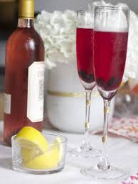 rose lemon champagne punch recipe hgtv