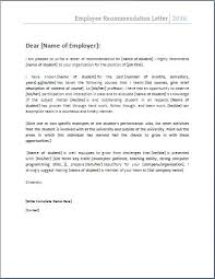 best 25 employee recommendation letter ideas on pinterest