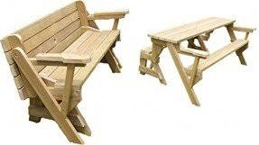 Foldable Picnic Table Bench Plans by Patio Picnic Tables Foter