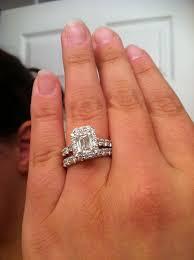 3 carat engagement rings wedding rings 2 carat emerald ring 3 carat emerald cut